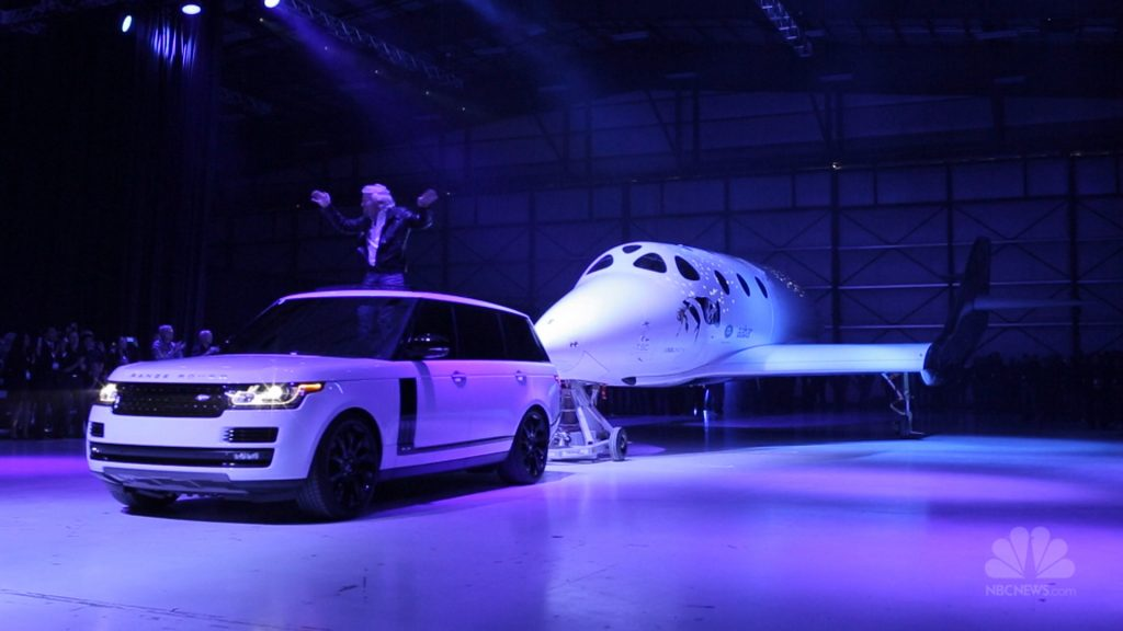 Virgin Galactic unveiled