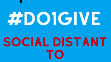 Photo of Social Distant to Social Good during COVID-19 #Do1Give Day Launches Globally to Spread Happiness in the World