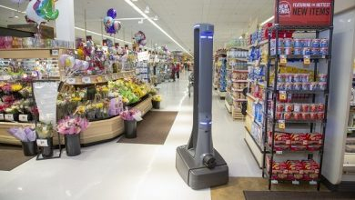 Photo of Marty the Robot Rolls out AI in the Supermarket