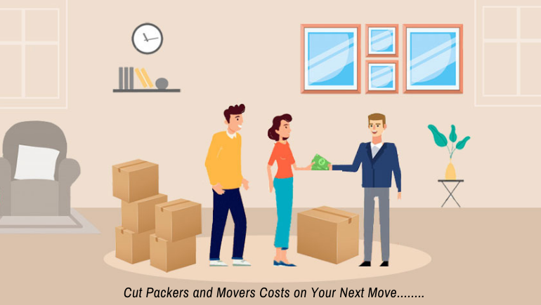 Cut packers and Movers cost